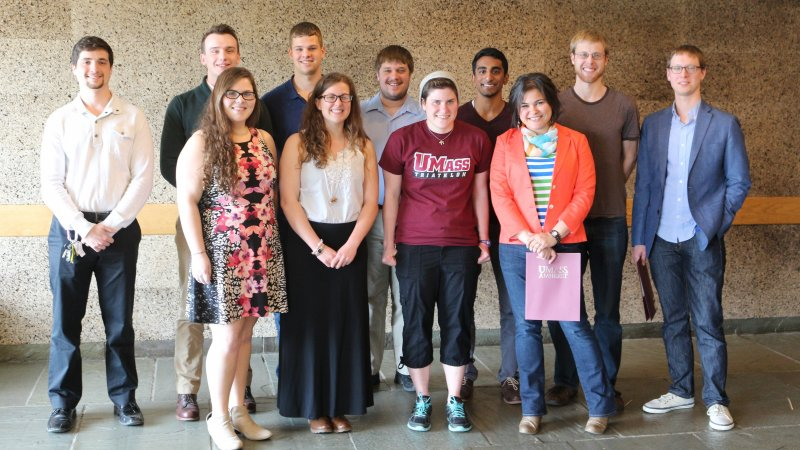 2015 Student Award Recipients, Physics Department at UMass Amherst
