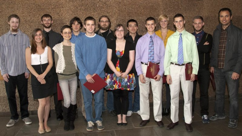 2021 Student Award Recipients, Physics Department at UMass Amherst