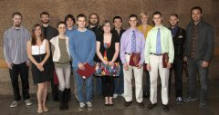 2012 Student Award Recipients, Physics Department at UMass Amherst