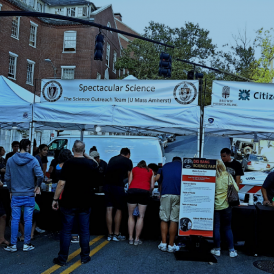 UMass Science Outreach at WaterFire Providence